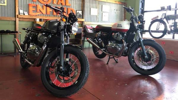 Royal Enfield Interceptor 650 And Continental Gt 650 Spotted In Two