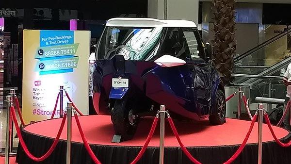 Strom R3 Unveiled In India; Cheapest Electric Car In The Country