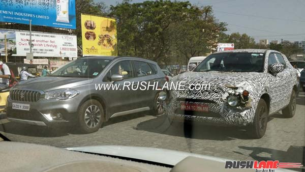 Tata H5X SUV Spotted Testing; Expected Launch, Price, Specs And Features