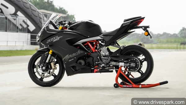 TVS Apache RR310 Sales Figures; Outsells KTM Duke 390 & RC390 Combined