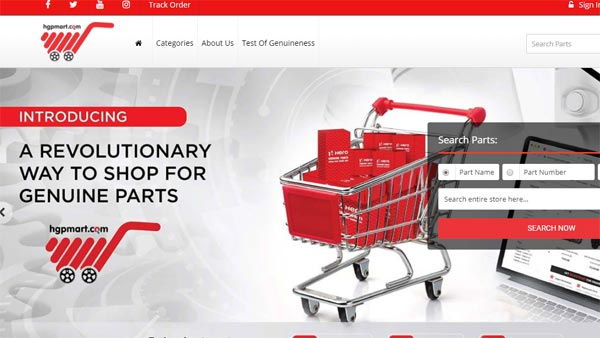 Hero MotoCorp Launches Website To Retail Spare Parts