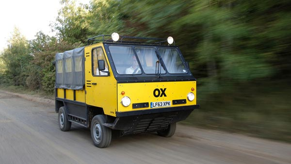 Shell To Bring Gordon Murray's Ox Flat Pack Truck To India
