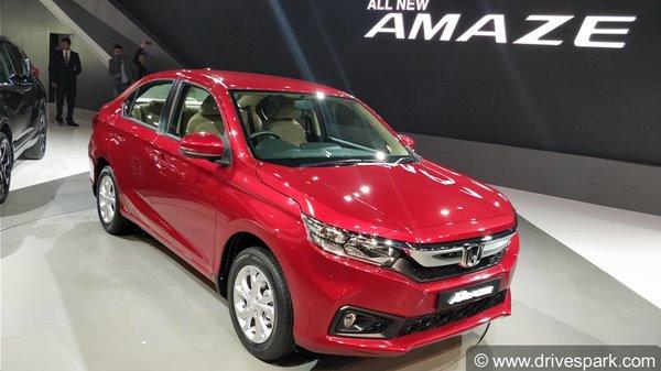 Honda Amaze 2018 Vs Honda City Comparison Specifications Features