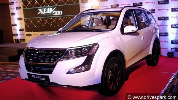 2018 Mahindra XUV500 Launched In India; Prices Start At Rs 12.32 Lakh