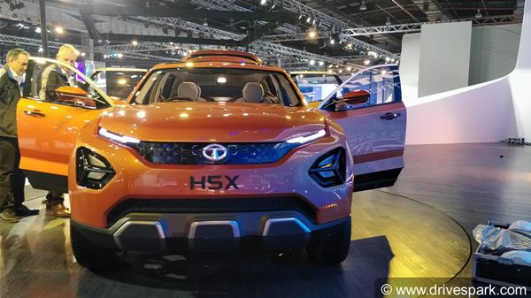 Tata H5X SUV Spotted Testing Again Launch Details Price Specs And Features