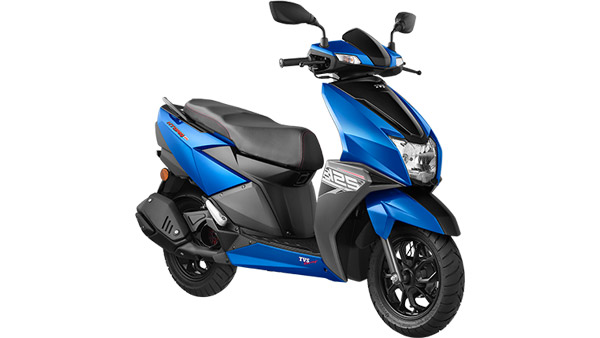 Tvs Ntorq 125 Available With Two New Colour Options Metallic Blue