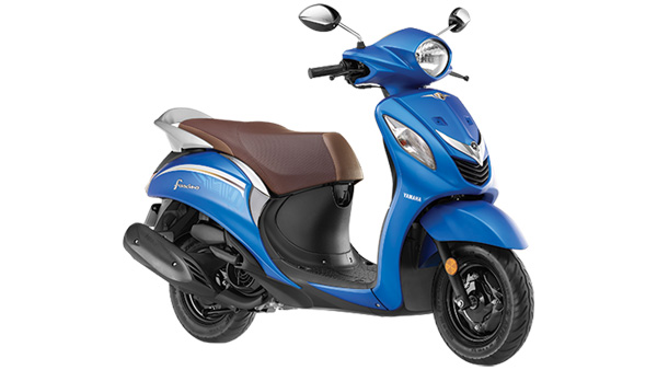 Yamaha Fascino Gets Two New Colour Options