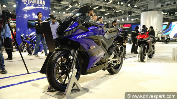 Yamaha YZF-R15 V3.0 Gets Three New Colour Options
