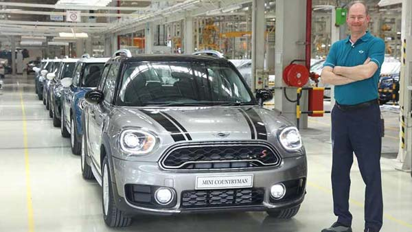 New 2018 Mini Countryman Local Production Begins; Manufactured At Chennai Plant