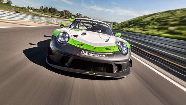 2019 Porsche 911 GT3 R Race Car Unveiled