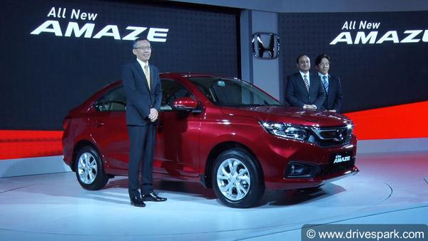 The New Honda Amaze