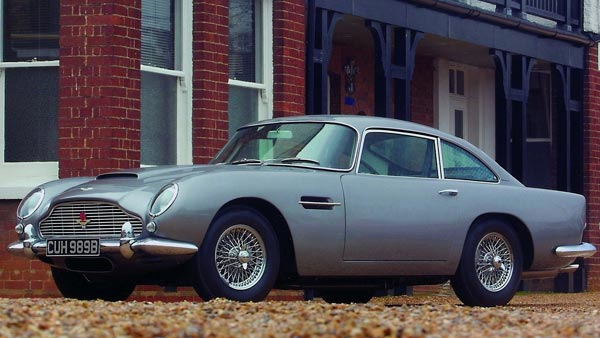 James Bond's Aston Martin DB5 From GoldenEye Is Up For Auction — The Most Expensive Bond Car Ever