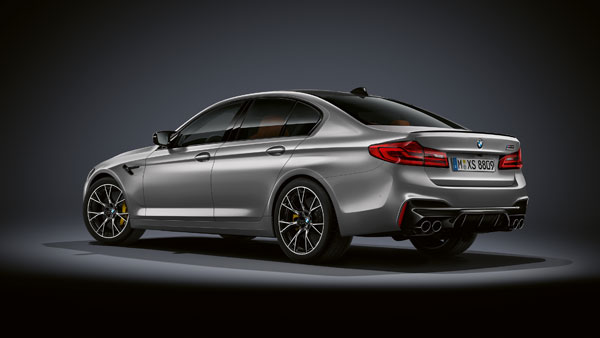 2018 BMW M5 Competition Edition Revealed