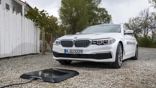 BMW Wireless Charging Pads — The Most Convenient Form Of EV-Charging?