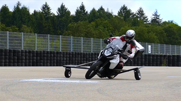 Bosch Motorcycle Anti-Slide Safety System: Prevents You From Sliding And Falling From A Motorcycle