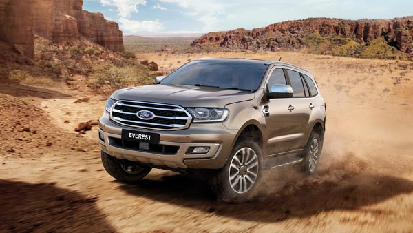 Ford Endeavour Facelift Revealed; Specifications, Features And Images