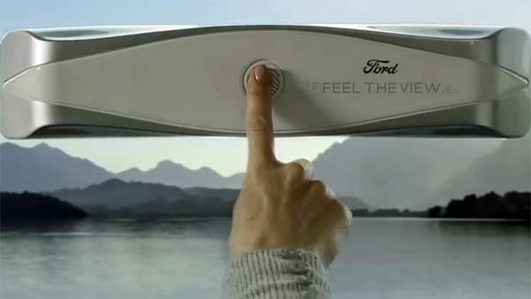 Ford Smart Window Prototype For Blind Passengers; Feel The View