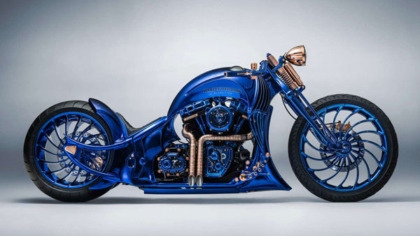 Harley-Davidson Blue Edition — Officially The World's Most Expensive & Exclusive Motorcycle