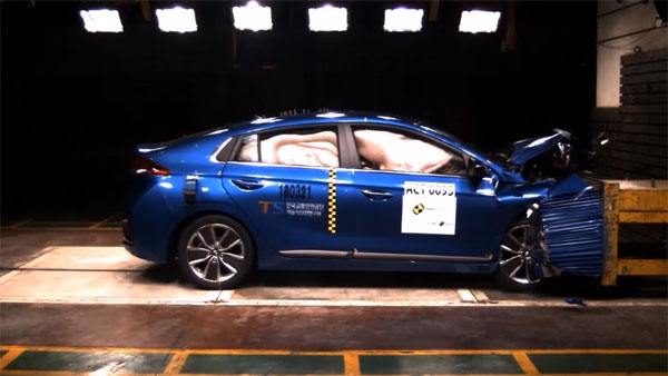 Hyundai Ioniq Hybrid Crash Test: Scores Five-Star ASEAN NCAP Rating