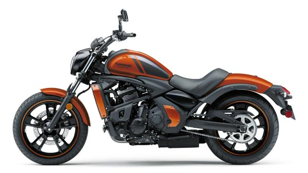 Kawasaki Vulcan S Launched in New Pearl Lava Orange Color