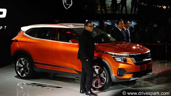 Kia Trazor Name For Production-Spec SP Concept SUV; India
