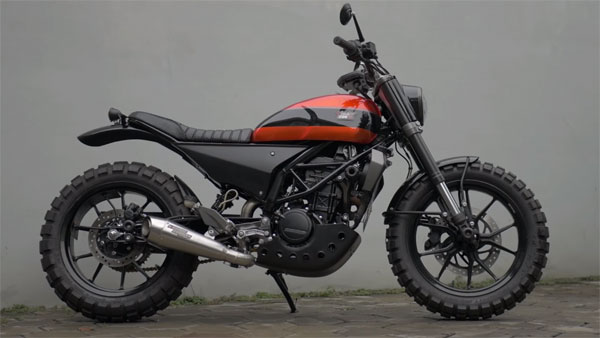 A KTM Duke 200 Scrambler Modification From Indonesia — Is This The Best KTM 200 Duke Mod Yet?
