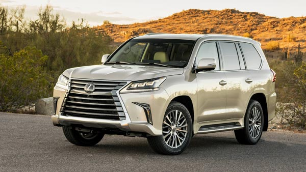 Lexus LX 570 Launched In India At Rs 2.32 Crore: Specifications, Features, Images And Details