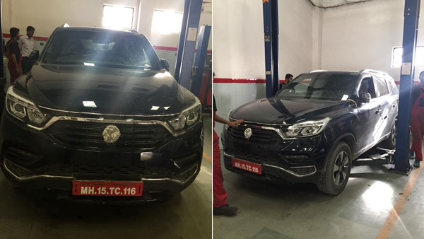 Mahindra XUV700 Spied Testing; Will Rival The Toyota Fortuner