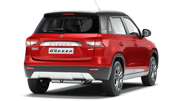 2018 Maruti Vitara Brezza To Get New Features - Launch Soon