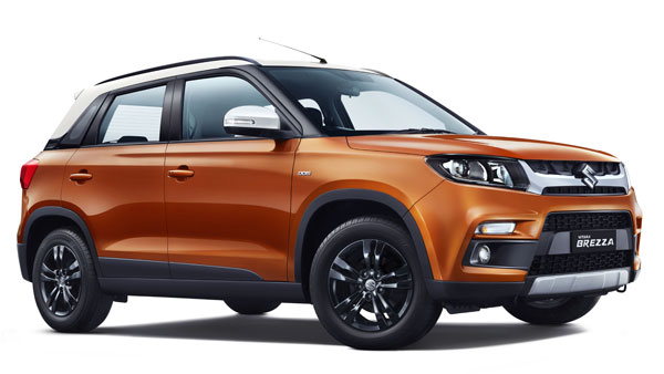 Maruti Vitara Brezza AMT Top Features; AMT Gearbox, New Colour, All-Black Theme & More