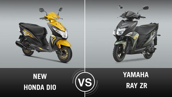 Yamaha ray zr specifications