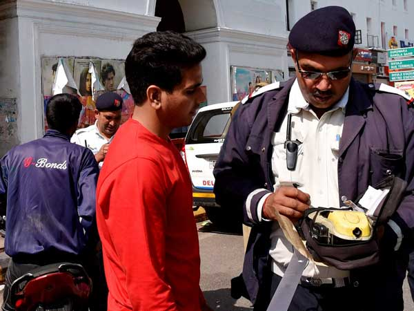 Traffic police to go cashless for fines