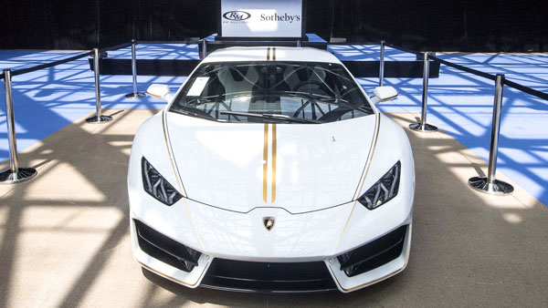 The Lamborghini Huracan Gifted To The Pope Is Now Sold — Auctioned At Rs 5.82 Crore