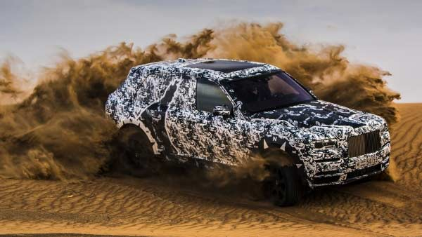 Rolls Royce Cullinan SUV To Be Unveiled On 10th May 2018; First SUV From British Luxury Car Maker