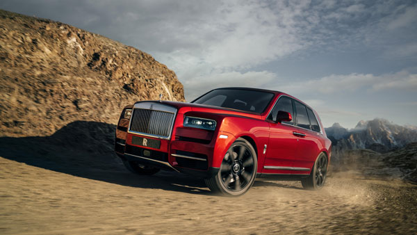 Rolls-Royce Cullinan super luxury SUV revealed