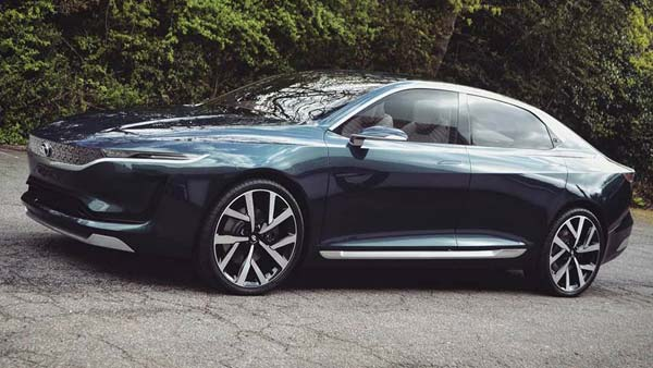 Tata E Vision Electric Sedan Concept More Real Life Images Emerge