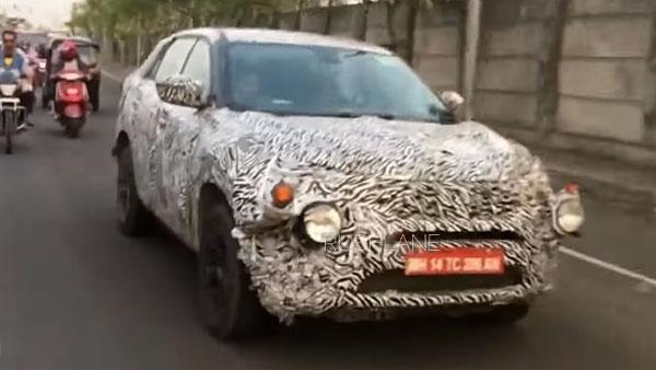 Tata H5X SUV Spotted Testing Again — To Rival Hyundai Creta Facelift