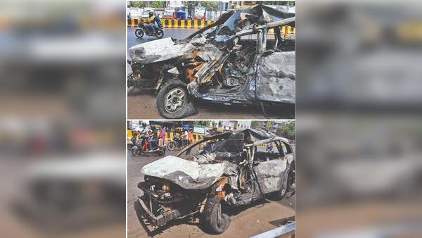 Tata Hexa Involves In A High-Speed Accident In Mumbai: Two Lives Lost