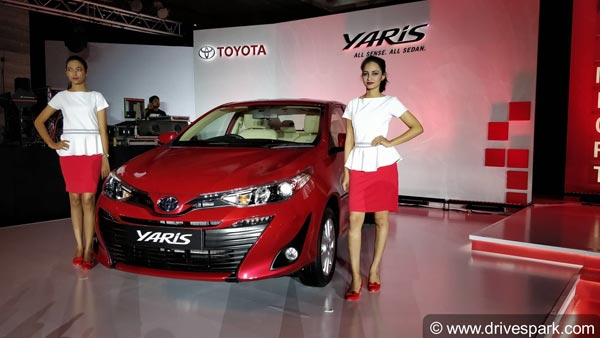 Toyota Yaris Launched In India; Prices Start At Rs 8.75 Lakh