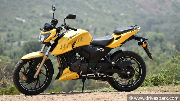 TVS Apache RTR 200 4V Now Available In New Colours