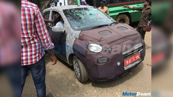 New 2018 Hyundai Santro Interiors Spied For The First Time; Launch Expected During This Festive Season