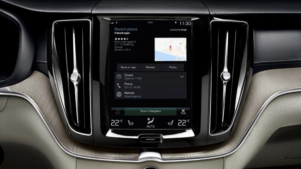 Volvo Cars To Get Android-Based Infotainment System