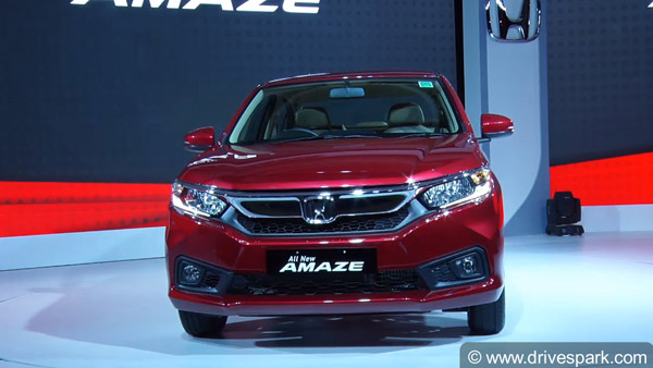 New Honda Amaze 2018 Variants In Detail — Which Is The Best Model To Buy?