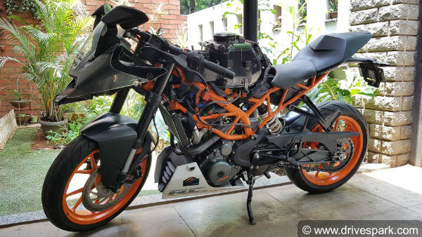 KTM Duke 200 and Duke 390 Performance Parts By Mantra Racing