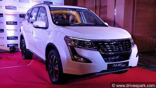 2018 Mahindra XUV500 Top Variant In High Demand; Bookings Doubled Since Launch