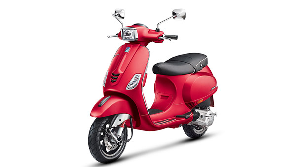 Vespa SXL 150 And 125 Now Available In New Colours