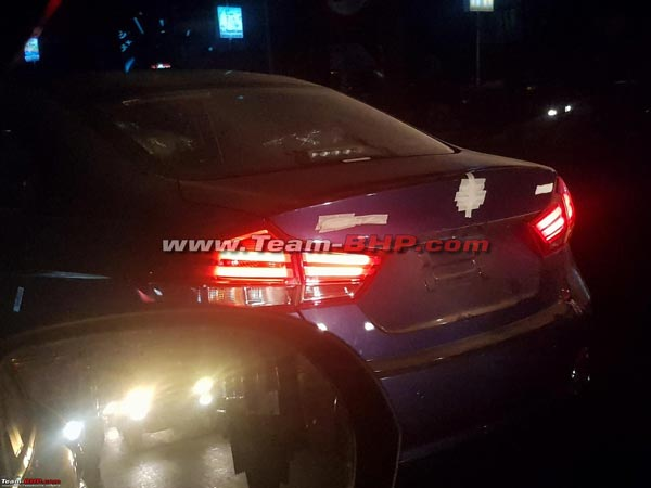 2018 Maruti Ciaz Facelift Spotted Completely Undisguised