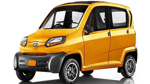 Bajaj Auto Planning To Develop Qute Electric Version