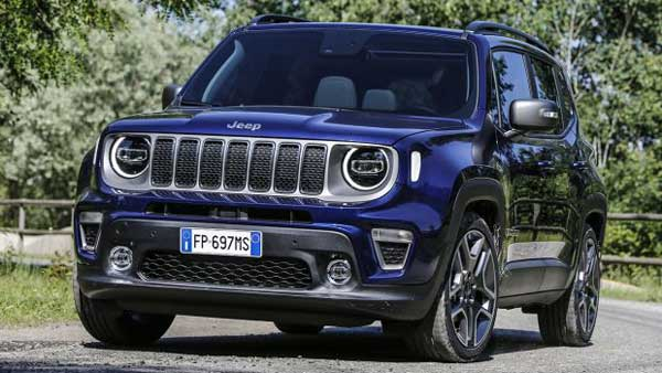 2019 Jeep Renegade Facelift Unveiled; India Launch Expected Next Year