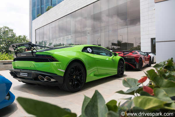 Lamborghini GIRO 2018 — Highlights From This Year's Bull Run By Lamborghini Bengaluru